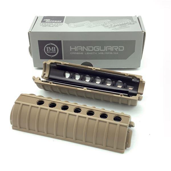IMI Defense M4 AR-15/ M16/ M4 Carbine Length Handguard, Tan, New