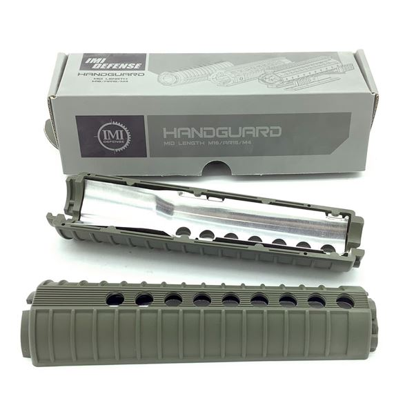 IMI Defense AR-15 / M16 / M4 Mid Length Medium Handguard, ODG, New