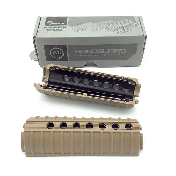 IMI Defense AR-15/ M16/ M4 Carbine Length Handguard, Tan, New
