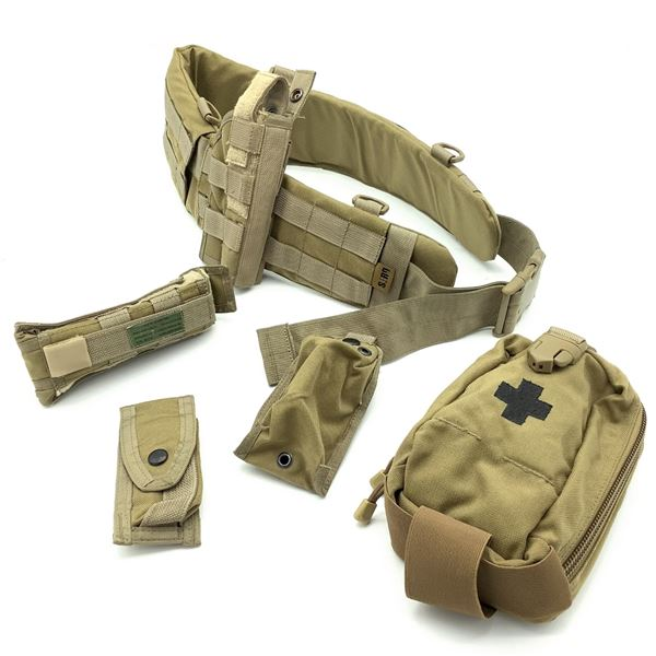 Pouches, Holster, and Belt for 50 Rd Chest Rig