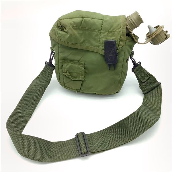 Two Quart Water Canteen And Carrier