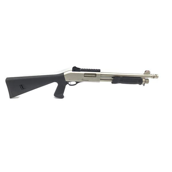 Akkar Scorpio 12ga Pump Action Shotgun, New