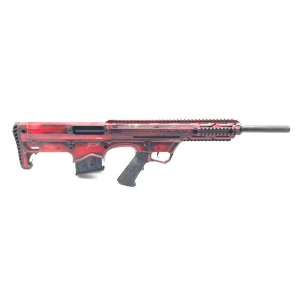 "Hunt Group FD12 Semi Auto Bullpup Shotgun, 20"" Barrel, Red, 12ga, New"