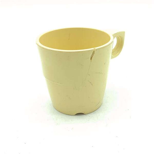 Melmac Cup, Cracked