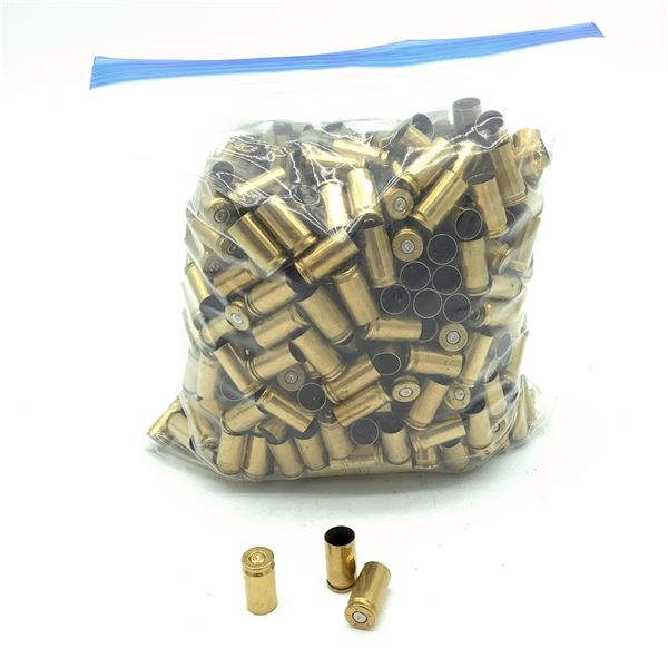 Brass Casings for 9mm, 500 Pc