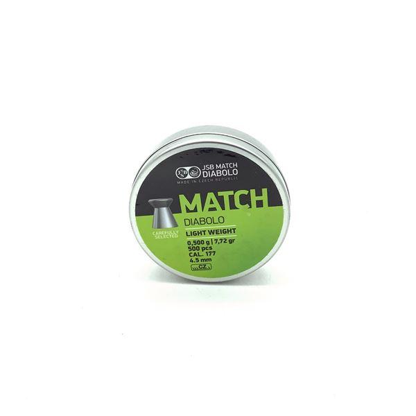 Pellets JSB Match .177 Cal, 500 CT