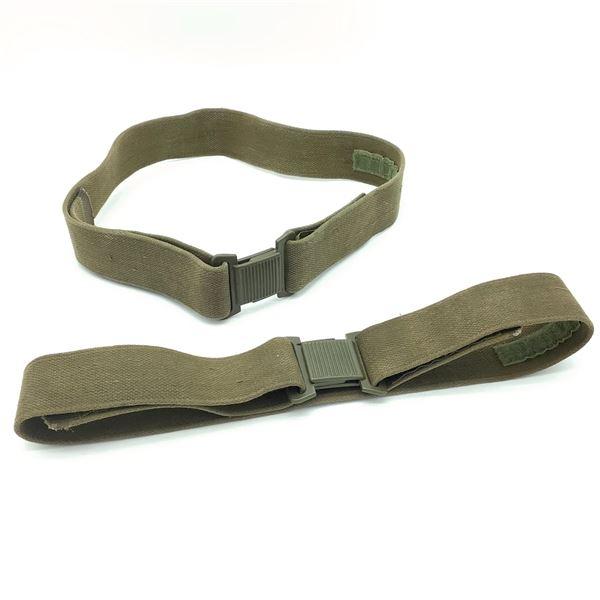 Vintage Combat Belts X 2 ODG