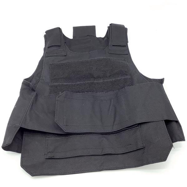 Tactical Vest, Very Adjustable, No Size, Blk