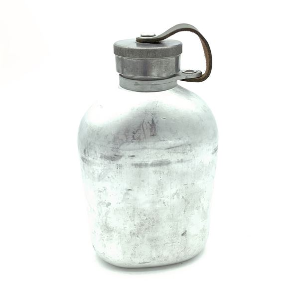 Swiss Army Metal Water Canteen