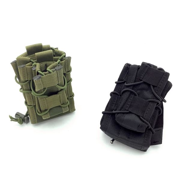 Magazine Pouches X 2, Blk and ODG