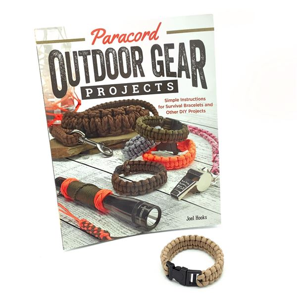 Paracord Bracelet and Outdoor Gear Projects Book