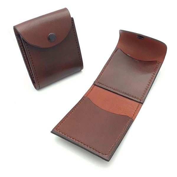 Leather Pouches for Belt X 2