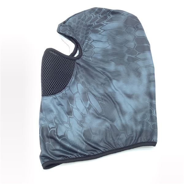 Balaclava With Mesh Mask, Blue/Grey Kryptek Camo