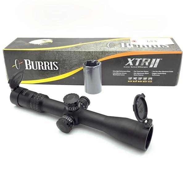 Burris XTR II 2-10 X 42 mm Rifle Scope With SCR MOA Reticle