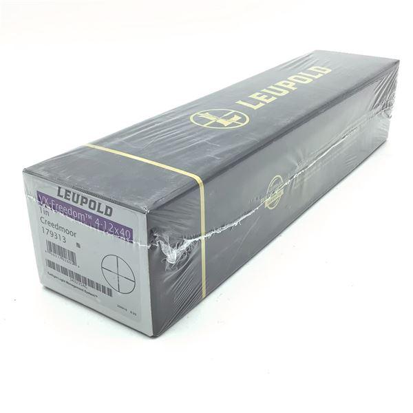"Leupold VX-Freedom 4-12 X 40 mm 1"" Creedmoor With Twilight Light Management System, New"