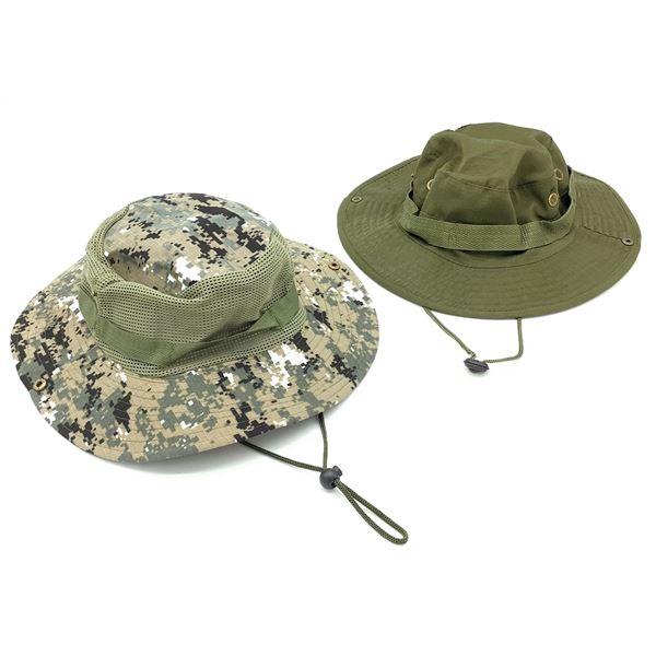 Jungle Type II Hat, Large ODG and Bucket Hat, Digi Camo