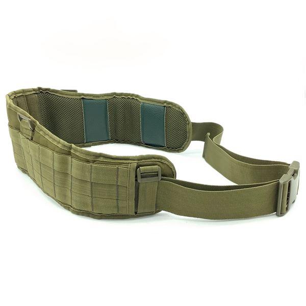 "Tactical Belt, Minimum 31"", Lots of Adjustability, ODG"