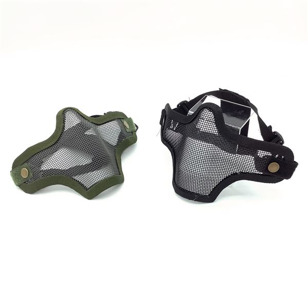 Wire Mesh Mask X 2, BLK, ODG