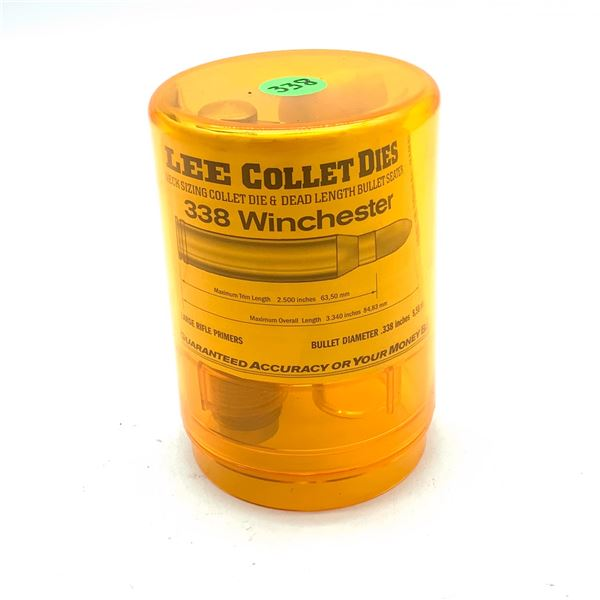 Lee Collet Dies for 338 Winchester