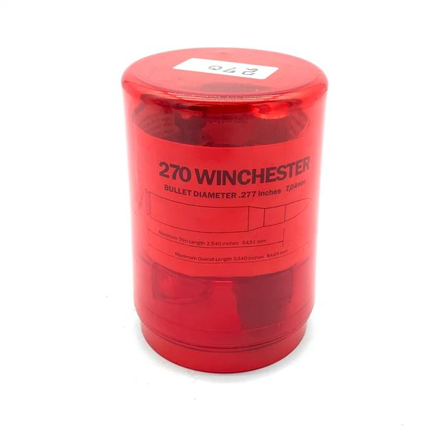 Lee Reloading Dies for 270 Winchester