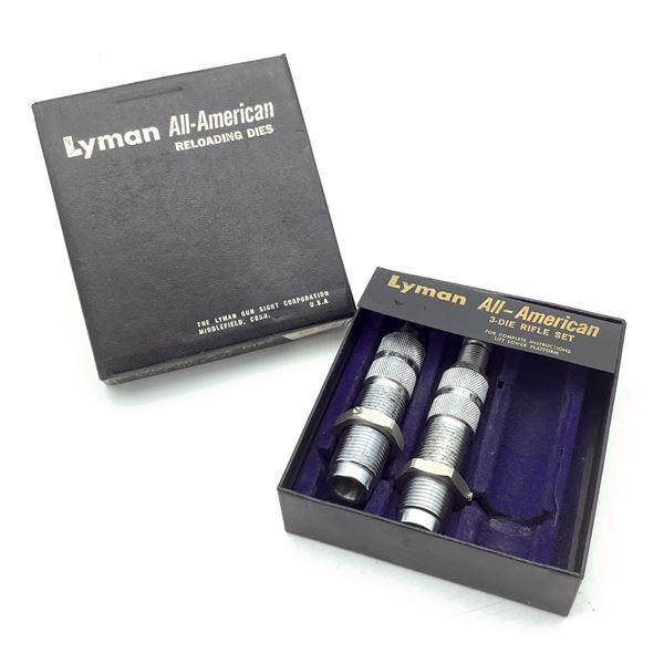 Lyman A-A Dies 2 Die Set for 458 Winchester