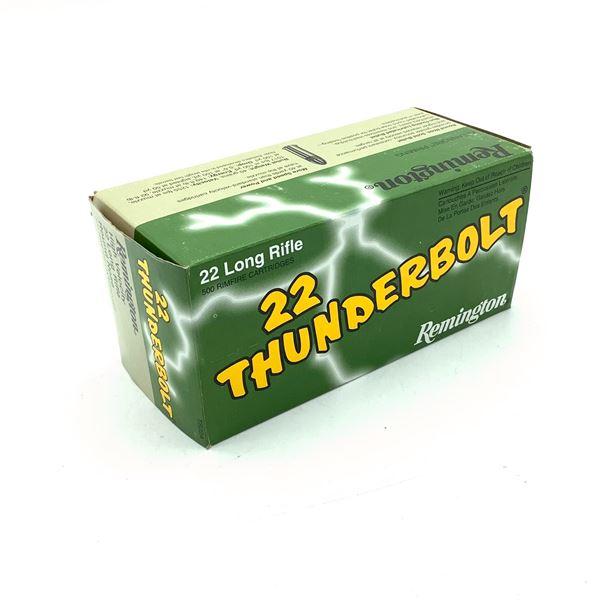 Remington Thunderbolt HV TB22A 22 LR RN Ammunition, 500 Rounds