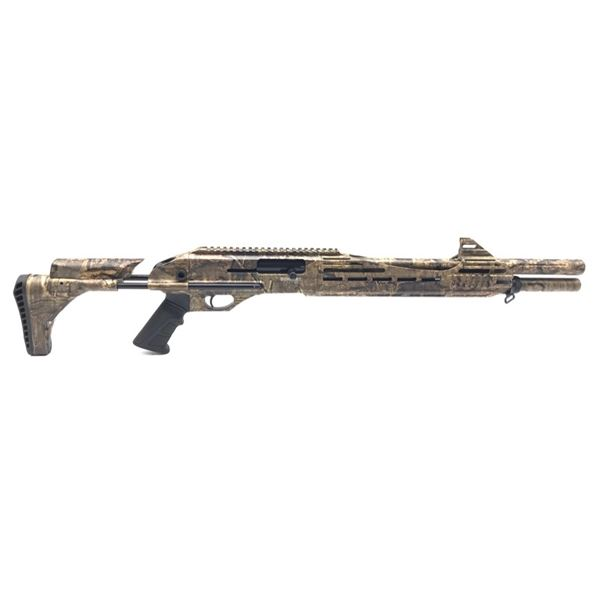 "Canuck Engage Semi Auto Shotgun, 18.6"" Barrel, 12ga 3"", Realtree Timber Camo, New"