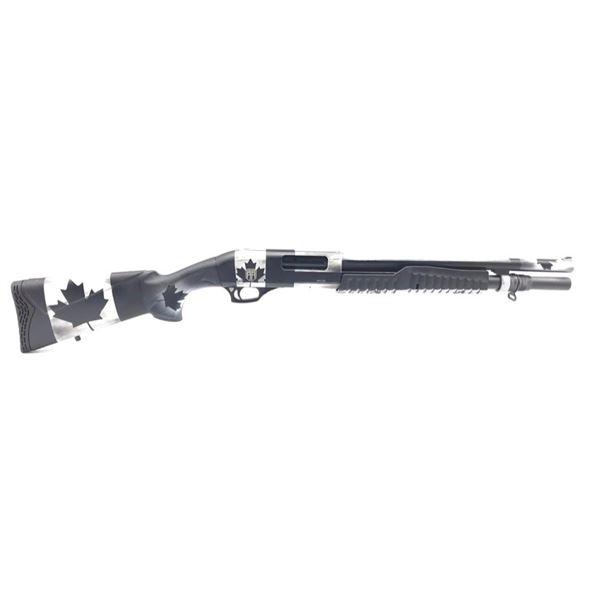 "Revolution Armory Mauler Pump Action Shotgun, 12ga 3"", Black Canadian Cerakote, New"