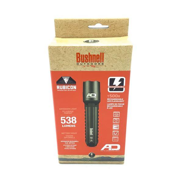 Bushnell Rubicon Rechargeable 538 Lumen Flashlight, New