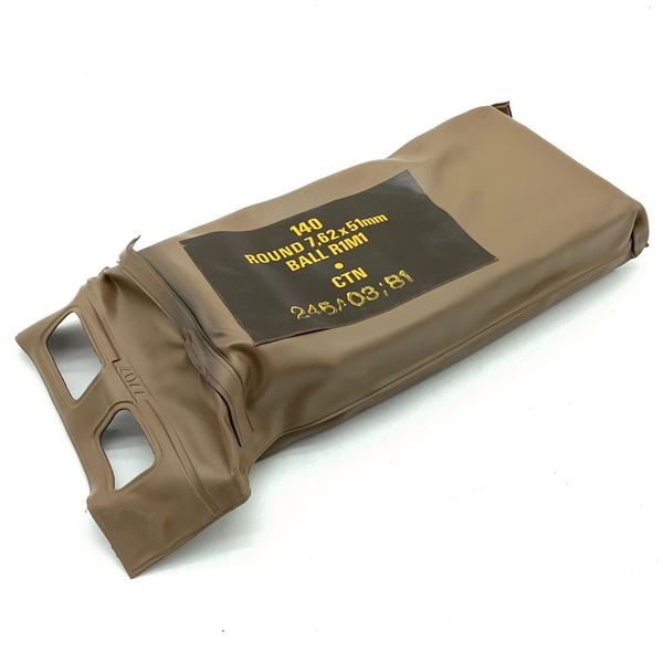 Battle Pack of South African 7.62 X 51 Ball Ammunition, 140 Rounds