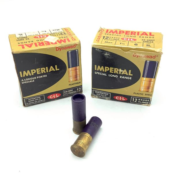 """Imperial 12 Ga 2 3/4"""" Ammunition, 50 Rounds"""