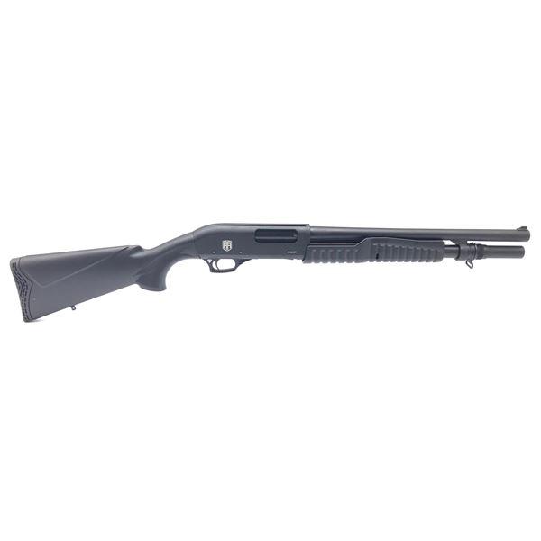 Revolution Armory Mauler 12ga Pump Action Shotgun, Synthetic Stock, New