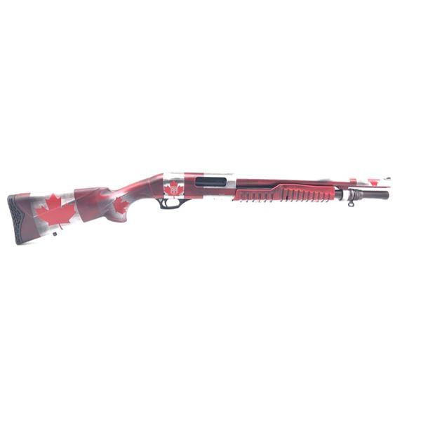 "Revolution Armory Mauler Pump Action Shotgun, 16.5"" Barrel, 12ga 3"", Canadian Cerakote, New"