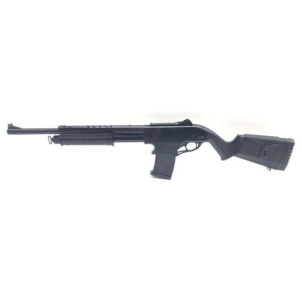 """Canuck Recon Mag Fed Pump Action Shotgun, 12ga 3"""", 20"""" Barrel, Black, New"""