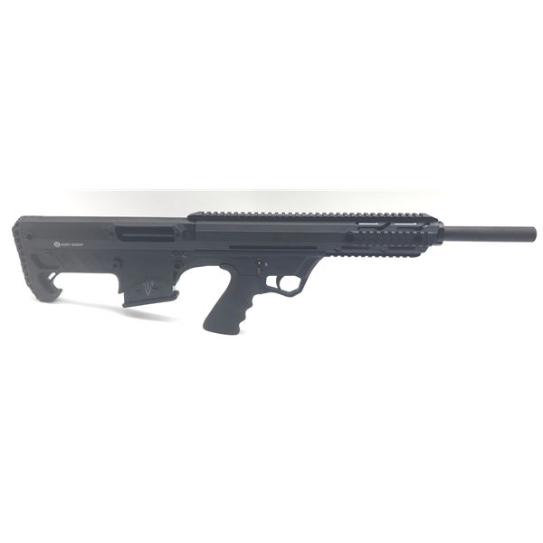 "Hunt Group FD12 Semi-Auto Bullpup Shotgun, 20"" Barrel, Black, 12 Ga, New"