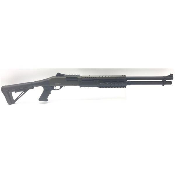 "Canuck Sentry 12 Ga Pump-Action Shotgun, 24"" Barrel, 12 Ga. 3"", 8+1 Magazine, W/Pistol Grip, Green"