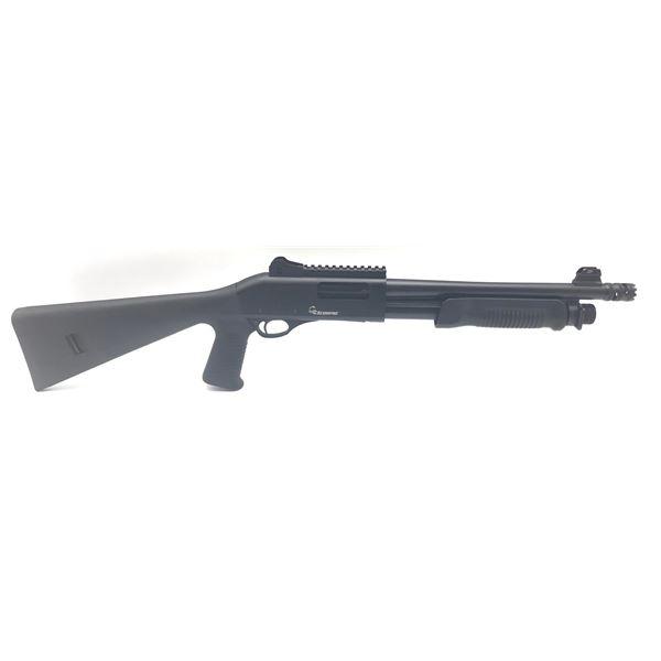 "Scorpio Pump Action Shotgun, 12 3/4"" Barrel, 12ga 3"", New"