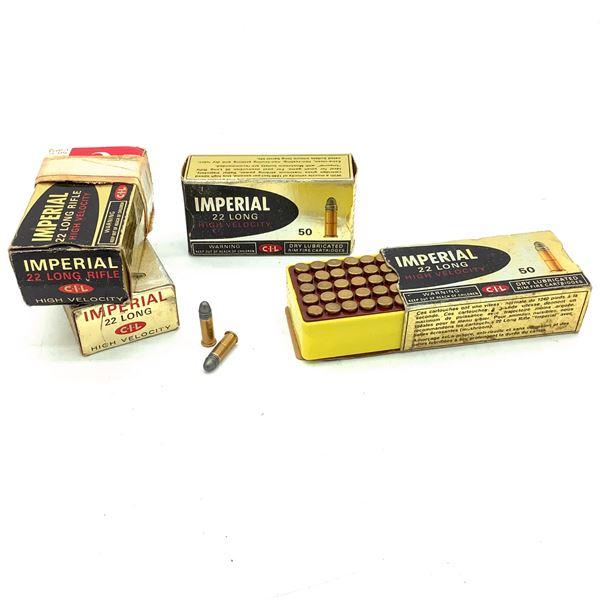 Imperial HV 22 LR LRN Ammunition, 183 Rounds