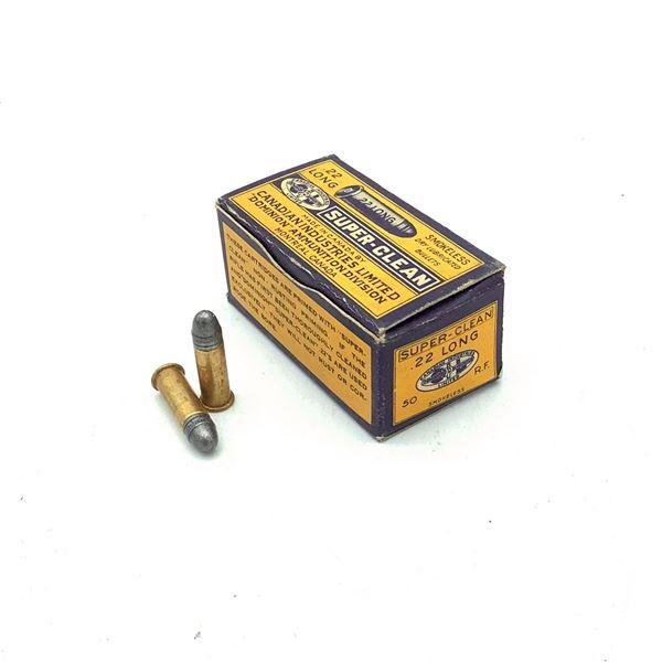 CIL Super Clean 22 Long LRN Ammunition, 50 Rounds