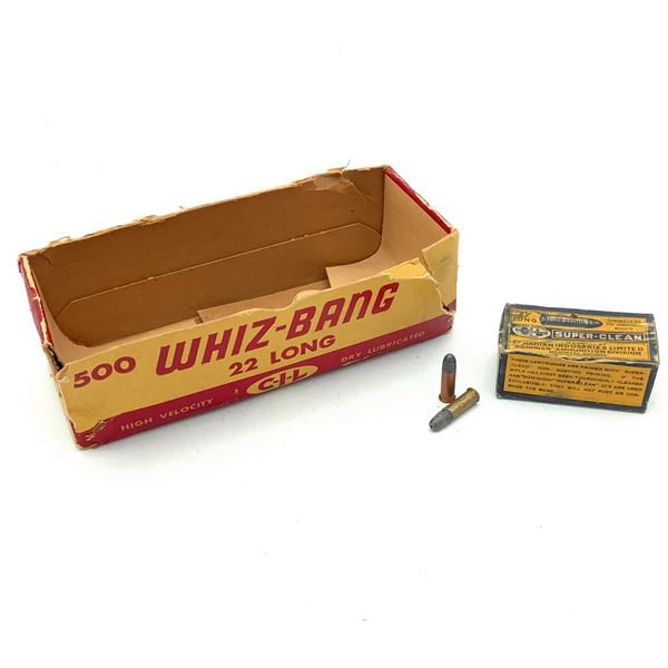 CIL Super Clean 22 Long LRN Ammunition, 19 Rounds and 1 CIL Whiz Bang Box