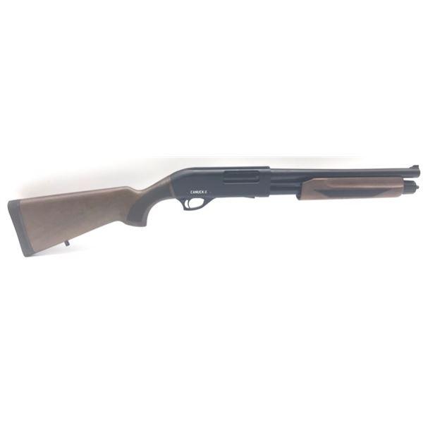 "Canuck Regulator/Defender Combo Pump Action Shotgun, 14"" Barrel, 12ga 3"", Wood"