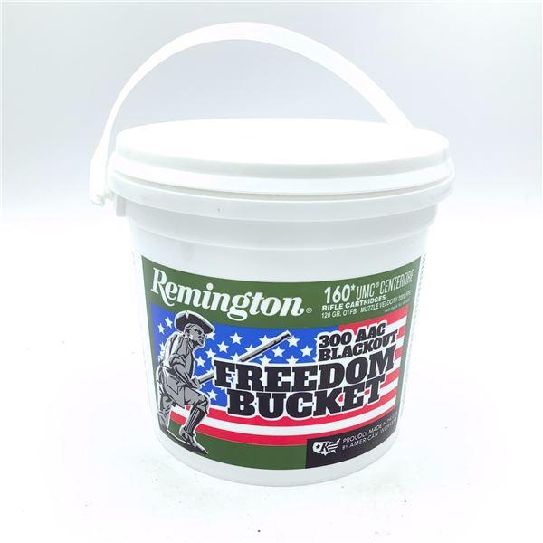 Remington UMC Freedom Bucket 300 AAC Blackout 120 Grain OTFB Ammunition, 160 Rounds