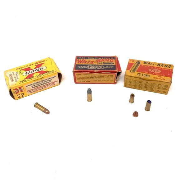 Assorted 22 Rimfire HV Ammunition, Approx 92 Rounds