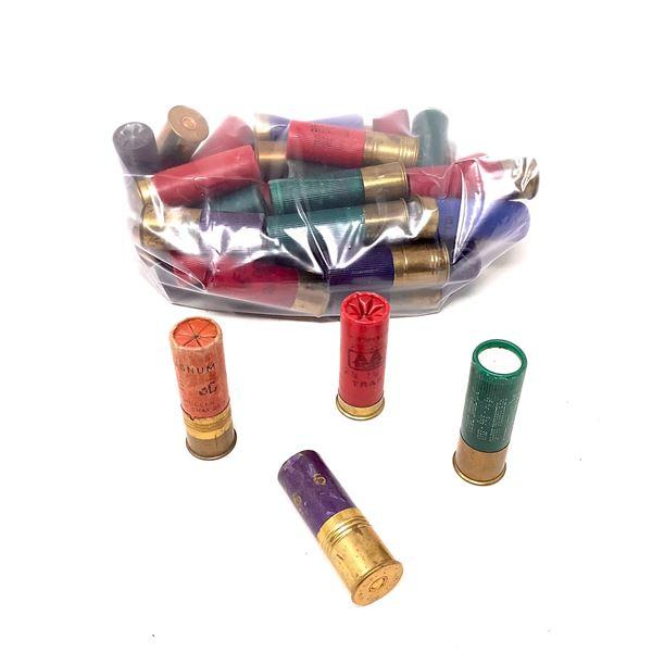 Assorted 12 Ga Ammunition, 38 Rounds