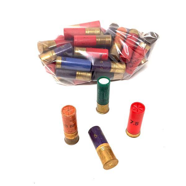 Assorted 12 Ga Ammunition, 42 Rounds