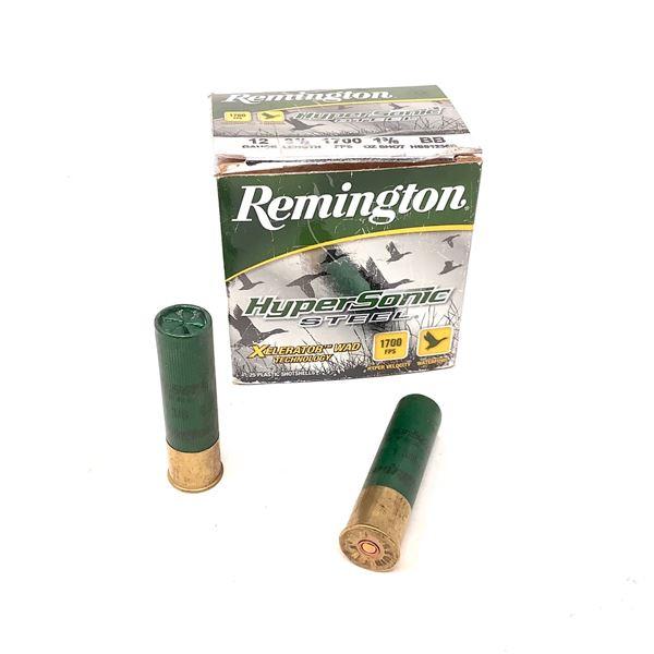 "Remington Hyper Sonic Steel 12 Ga 3 1/2"" BB Ammunition, 20 Rounds"