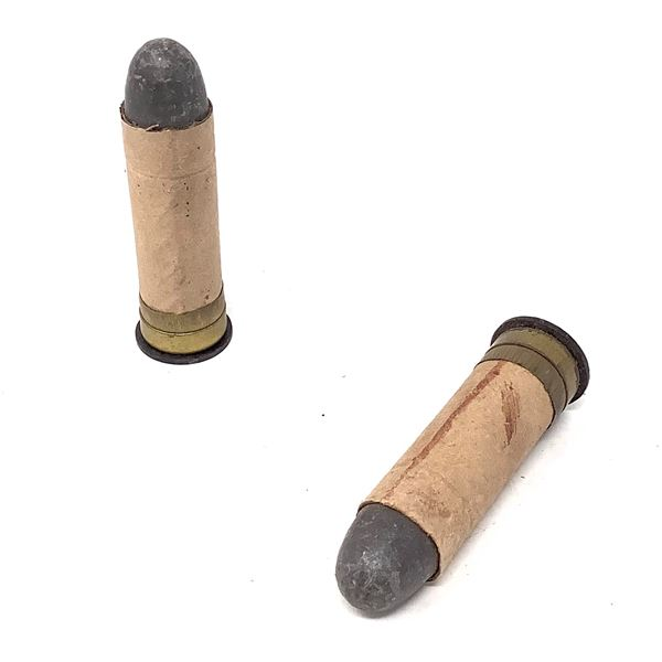 Paper Wrapped 577 Snider Ammunition, 2 Rounds