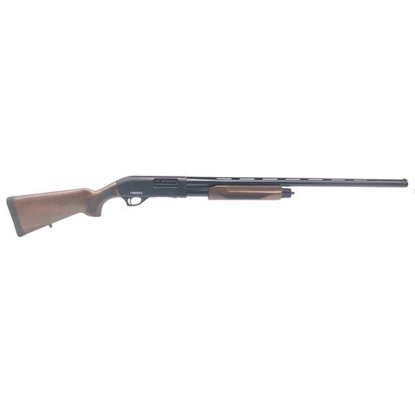 "Canuck Pioneer Pump-Action Shotgun, 28"" Chrome-Lined Barrel, 12 Ga. 3"", Walnut, New"