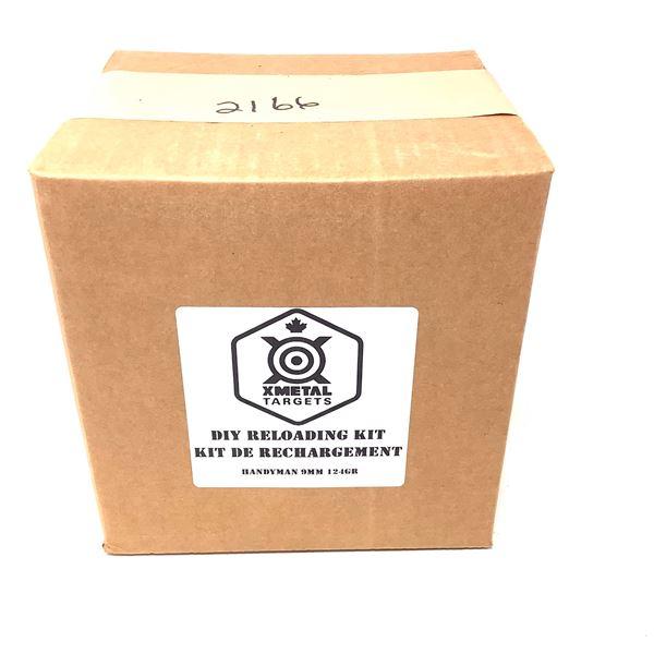 XMetal DIY Reloading Kit for 9 mm 124 Grain