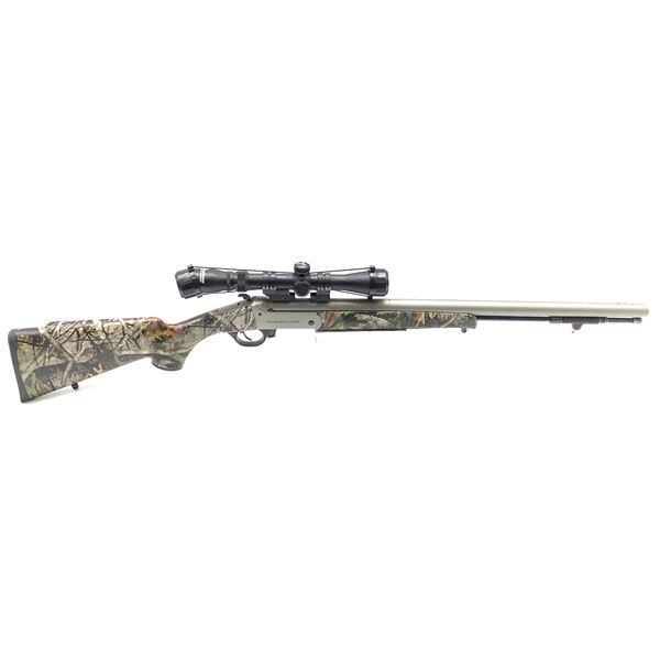 Traditions Buckstalker 50 Cal. Black Powder Rifle with 3-9x40 Scope